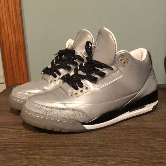 best service caec4 147fd Nike Shoes | Air Jordan 3 Reflective Silver | Poshmark